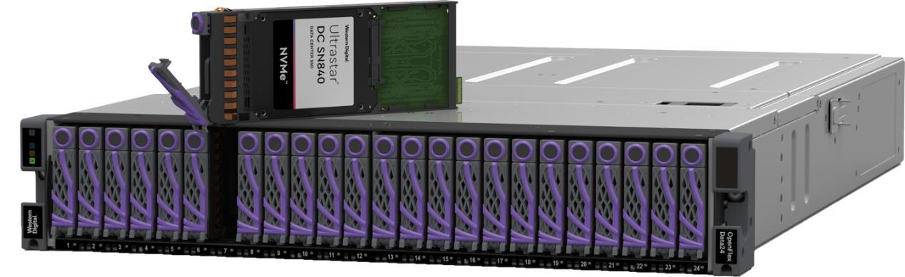 加码全闪存 西部数据布局NVMe产品技术方案