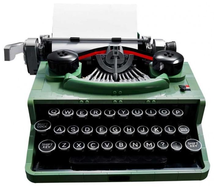 周末喜闻乐见系列:乐高复古打字机套装来了