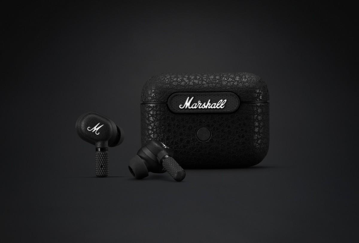 主动降噪+真无线 Marshall推出两新款耳机产品